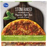Kroger® Hot Honey Pepperoni Pizza with Jalapenos - 17.9 oz
