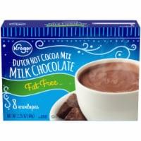 Kroger® Fat Free Milk Chocolate Dutch Hot Cocoa Mix - 8 ct