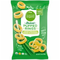 Simple Truth Organic™ Sour Cream & Onion Flavored Baked Puffed Rings