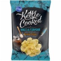 Kroger® Kettle Cooked Salt & Vinegar Potato Chips - 8 oz