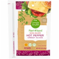Simple Truth™ Plant Based Non-Dairy Hot Pepper Cheezy Slices