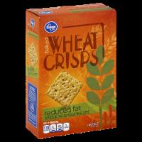 Kroger® Reduced Fat Baked Wheat Crisps - 7.5 oz
