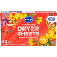 Kroger® Outdoor Bliss Fabric Softening Dryer Sheets