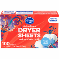 Kroger® Fresh Linen Fabric Softening Dryer Sheets
