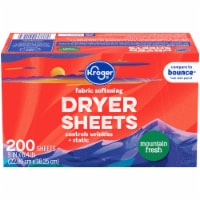 Kroger® Mountain Fresh Fabric Softening Dryer Sheets