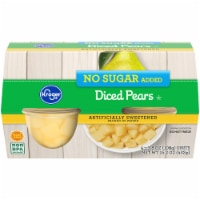 Kroger® No Sugar Added Died Pears 4 Count