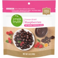 Simple Truth™ Freeze-Dried Raspberry in Dark Chocolate - 5 oz