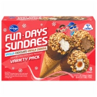 Kroger® Fundays Sundaes™ Variety Pack Cone