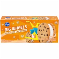 Kroger® Big Wheels Vanilla and Chocolate Chip Round Ice Cream Sandwiches