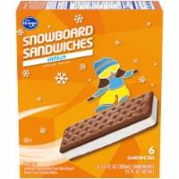 Kroger® Vanilla Snowboard Sandwich