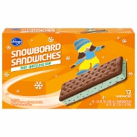 Kroger® Mint Chocolate Chip Snowboard Sandwich