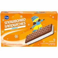 Kroger® Snowboard Sandwiches Vanilla Frozen Dairy Dessert