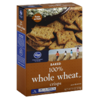 Jay C Food Stores - Kroger® 100% Whole Wheat Wheat Crisps, 9 oz
