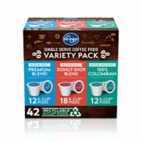 Kroger® Single Serve Coffee K-Cup Pods Variety Pack - 42 ct
