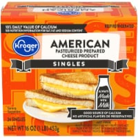 Kroger® American Pasteurized Prepared Cheese Product Singles