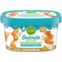 Simple Truth™ Sea Salt Caramel Oatmilk Non-Dairy Frozen Dessert - 48 fl oz