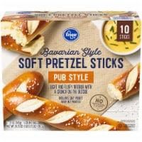 Kroger Bavarian Style Soft Pretzel Sticks - 10 ct / 24.75 oz