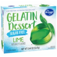 Kroger® Sugar Free Lime Gelatin Mix