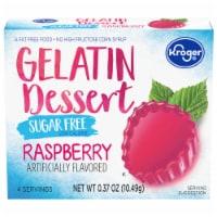 Kroger® Sugar Free Raspberry Gelatin Dessert Mix - 0.37 oz