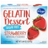 Kroger® Sugar Free Strawberry Gelatin Dessert Mix