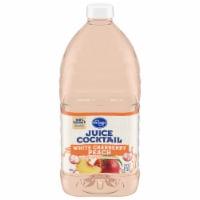 Kroger® White Cranberry Peach Juice Cocktail - 64 fl oz