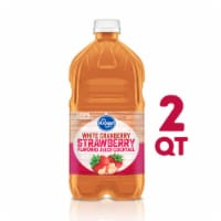 Kroger® White Cranberry Strawberry Juice Cocktail - 64 fl oz