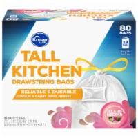 Kroger® Island Nectar Scent 13 Gallon Tall Kitchen Drawstring Trash Bags