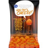 Kroger® Now That's Cheesy! Puffed Cheese Balls