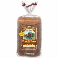 Western Hearth Omega 3 Flax & Fiber Widepan Bread - 24 oz