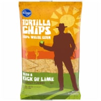 Kroger® Kick of Lime White Corn Tortilla Chips