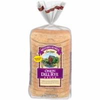 Western Hearth® Onion Dill Rye Wide Pan Bread