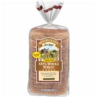 Western Hearth® Sugar Free Wide Pan 100% Whole Wheat Bread - 24 oz
