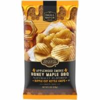 Private Selection® Applewood Smoke Honey Maple BBQ Ripple-Cut Potato Chips - 8 oz
