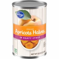 Kroger® Peeled in Heavy Syrup Apricot Halves