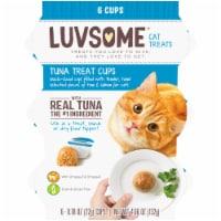 Luvsome® Tuna Cat Treat Cups - 6ct / 0.78 oz