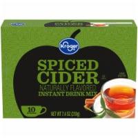 Kroger® Naturally Flavored Spiced Cider Instant Drink Mix - 10 ct