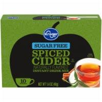 Kroger® Sugar Free Spiced Cider Instant Drink Mix - 10 ct