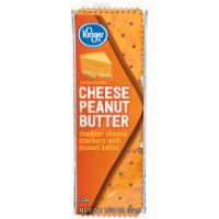 Kroger® Cheese Peanut Butter Sandwich Crackers
