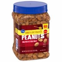 Kroger® Honey & Dry Roasted Peanuts with Sea Salt - 34.5 oz