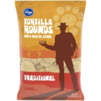 Kroger® Traditional White Corn Round Tortilla Chips