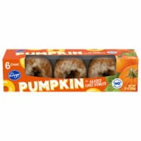 Kroger® Pumpkin Glazed Cake Donuts 6 ct