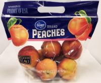 Peaches – Yellow – Kroger® 2 Pound Pouch