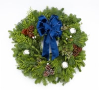 """BLOOM HAUS™ Ultra Premium 28"""" Decorated Outdoor Holiday Wreath"""