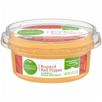 Simple Truth Organic™ Roasted Red Pepper Hummus