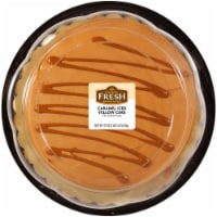 Bakery Fresh Goodness Caramel Iced Yellow Cake with Caramel Drizzle