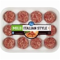 Kroger® Mild Italian Style Pork Meatballs