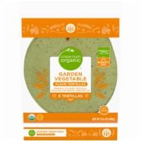 Simple Truth Organic™ Garden Vegetable Flour Tortillas - 6 ct / 14.4 oz