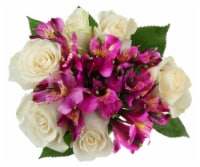 Bloom Haus™ Splendid White Rose Bouquet