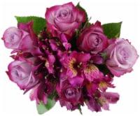 BLOOM HAUS™ Splendid Lavender Rose Boquet