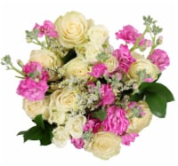BLOOM HAUS™ Enchanted White Rose Boquet